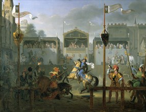 'The Tournament', 1812. Artist: Pierre Henri Revoil