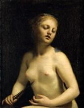'The Death of Lucretia', 17th century. Artist: Guido Cagnacci