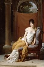 'Portrait of Juliette Recamier', 1805.  Artist: Francois Pascal Simon Gerard