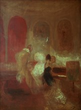 'Music Party, East Cowes Castle', Isle of Wight, 1835. Artist: JMW Turner