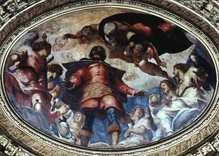 'San Rocco in Glory', 1564.  Artist: Jacopo Tintoretto