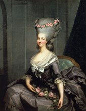 'The Princess Lamballe' late 18th century. Artist: Antoine Callet