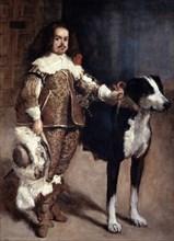 'Court Dwarf Don Antonio el Inglés', 1640-1645. Artist: Diego Velasquez