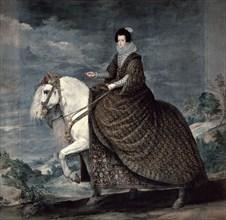 'Queen Isabella of Bourbon', 1629-1635. Artist: Diego Velasquez