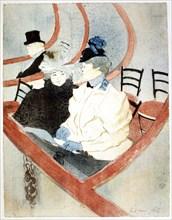 'La Grande Loge' ('The Royal Box'), 1896-1897. Artist: Henri de Toulouse-Lautrec