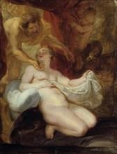 'Jupiter and Danae', 17th century. Artist: Peter Paul Rubens