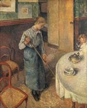 'The Young Servant', 1882. Artist: Camille Pissarro