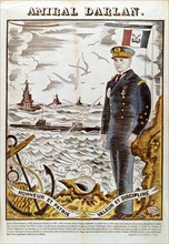 Admiral Francois Darlan, Commander of the French Navy, 1940. Artist: Pierre Falke