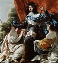 'Louis XIII', 17th century. Artist: Simon Vouet