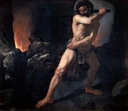 'Hercules and Cerberus', c1634. Artist: Francisco de Zurbaran