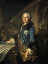 'Portrait of the Marquis of Marigny', 1755. Artist: Louis Tocque