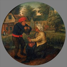 Unidentified Flemish proverb, late 16th/early 17th century. Artist: Pieter Brueghel the Younger