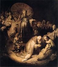 'The Adoration of the Magi', 1632. Artist: Rembrandt Harmensz van Rijn