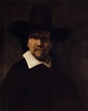 'Portrait of the Poet Jeremias de Decker', c1666. Artist: Rembrandt Harmensz van Rijn