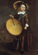'Boy with Drum', 17th century. Artist: Rembrandt Harmensz van Rijn