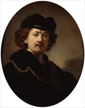 'Self-Portrait with a Gold Chain', 1633.  Artist: Rembrandt Harmensz van Rijn