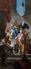 'Scene from the life of Hannibal', 18th century.  Artist: Claudio Francesco Beaumont