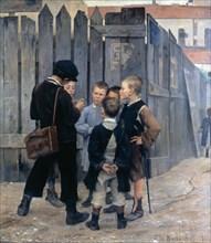 'The Meeting', 1884. Artist: Maria Konstantinowka Bashkirtseff