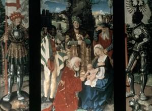 'Adoration of the Magi', 1507. Artist: Hans Baldung