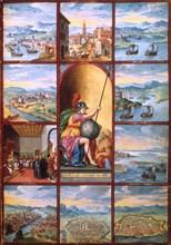 Voyage dans les Pouilles, 16th century. Artist: Unknown