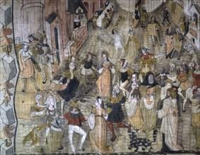 'The Mystery of the 'Revenge' of Jesus Christ', detail, c1630.  Artist: Anon