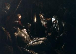 'Descent from the Cross', 16th century. Artist: Jacopo Bassano il vecchio