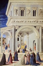 'The Birth of the Virgin', 1467. Artist: Fra Carnevale