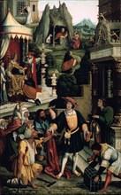 'Legend of Saint Roch,' 16th century.  Artist: Bernaert van Orley