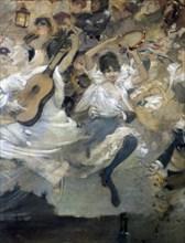'Parce Domine', detail, c1884..  Artist: Léon Adolphe Willette