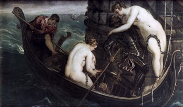 'The Deliverance of Arsinoe', after 1560-1594. Artist: Jacopo Tintoretto