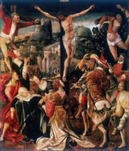 'Calvary', late 15th/early 16th century. Artist: Cornelius Engebrechtsz