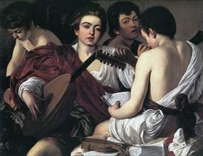 'The Musicians', c1595. Artist: Michelangelo Caravaggio