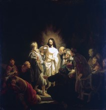 'Doubting Thomas', 1634. Artist: Rembrandt Harmensz van Rijn