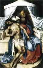 'The Trinity', 14th century. Artist: Robert Campin