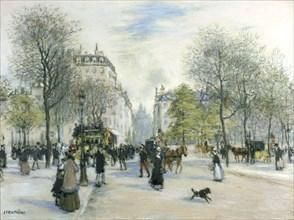 'Paris', 1900. Artist: Jean Francois Raffaelli