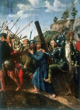 'Jesus on the Road to Calvary', late 15th/early 16th century. Artist: Michael Sittow