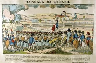 'Battle of Lutzen', 2 May 1813. Artist: Unknown