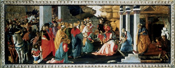 'The Adoration of the Kings', c1470. Artist: Filippino Lippi