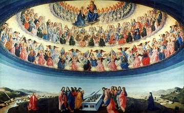 'The Assumption of the Virgin', c1475-1476. Artist: Francesco Botticini