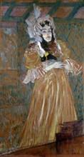 'Portrait of Miss May Belfort', 1895. Artist: Henri de Toulouse-Lautrec