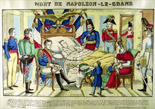 'The Death of Napoleon the Great',  5 May 1821, 1825. Artist: Unknown