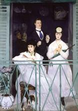 'The Balcony', 1868. Artist: Edouard Manet