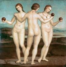 'The Three Graces', 1504-1505. Artist: Raphael