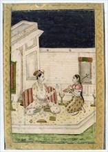 Dipaka (Light) Raga, Ragamala Album, School of Rajasthan, 19th century. Artist: Unknown