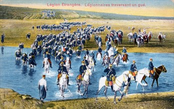 French Foreign Legion, Morocco, c1900. Artist: Unknown