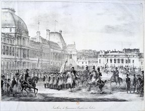'Installation of the Government at Tuileries', 19th century. Artist: Unknown