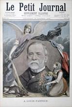 Louis Pasteur, French chemist, 1895. Artist: Unknown