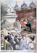 Inauguration of Louis Pasteur's statue, Paris, 1904. Artist: Unknown