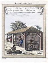 Tobacco factory, 1780. Artist: Unknown