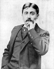 Marcel Proust, French intellectual, novelist, essayist and critic, late 19th-early 20th century.Artist: Otto